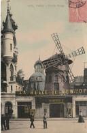 N° 8711 R -cpa Paris -le Moulin Rouge- - Mulini A Vento