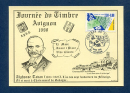⭐ France - Carte Maximum - Journée Du Timbre - Avignon - 1990 ⭐ - 1990-99