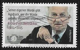 2020  100. Geburtstag Von Richard Von Weizäcker - Oblitérés