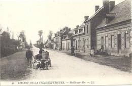 76 Biville-sur-mer Circuit De La Seine Infèrieure (attelage Chiens) - Other Municipalities