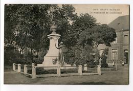 Ref 201 - SAINT-SAULVE - Le Monument De DUCHESNOIS (1906) - Other Municipalities