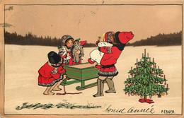 ILLUSTRATEUR  PAULI EBNER  M.M VIENNE    N° 897  Enfants , Noel - Ebner, Pauli