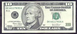USA 10 Dollars 2003 K  - XF # P- 518 < K11 - Dallas TX > - Billets De La Federal Reserve (1928-...)