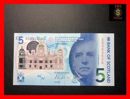 SCOTLAND 5 £  25.3.2016  P. 130  Bank Of Scotland  Polymer  UNC - 5 Pounds