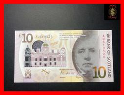 SCOTLAND 10 £   1.6.2016  P. 131  Bank Of Scotland  Polymer  UNC - 10 Pounds