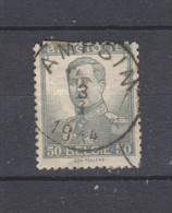 COB 115 Sans Bandelette Oblitération Centrale AMPSIN - 1912 Pellens