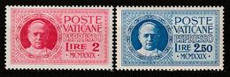 VATICAN - EXPRES  N°1 / 2 ** (1929) Pie XI - Espresso