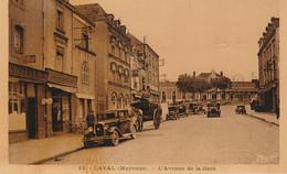 Laval 53 (2715) L'Avenue De La Gare Cpsm Pf Glaçée - Laval