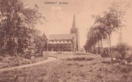 Hersselt - De Kerk - Uitg. J. Wauters-Van Den Bulck, Averbode - Iglesias Y Catedrales