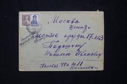 U.R.S.S. - Enveloppe  De Moscou En 1949 - L 77602 - Briefe U. Dokumente