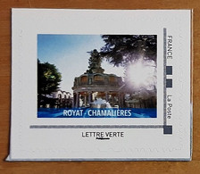 """MONTIMBREAMOI 2020 - ROYAT CHAMALIERES - Issu Collector """"AUVERGNE THERMALES"""" - MTAM-2020-466 - Personalized Stamps (MonTimbraMoi)"""