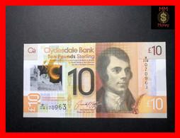 SCOTLAND 10 £  25.1.2017  P. 229 Q  Polymer  CB  UNC - 10 Pounds