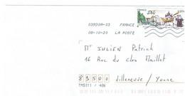 FRANCE 2020 / Y&T N° 5389  Salon Philatélique De Printemps à Dôle (Jura)  Sur Enveloppe Entière 08.10.2020 Façiale 0.97€ - Cartas