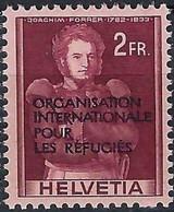 SUISSE Service, OIR 1950: Le ZNr. 8, Neuf** - Officials