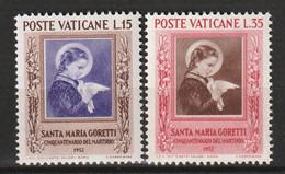 VATICAN - N°174/5 ** (1953) - Nuovi