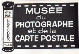 LESCURE - Eté 1981 - Musée Du Photographe Et De La Carte Postale - Tirage Numéroté Et Limité : 28/200 Ex. (119888) - Lescure
