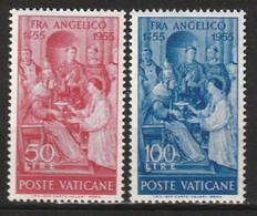 VATICAN - N°213/4 ** (1955) - Nuovi