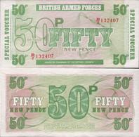 Great Britain 1972 - 50 New Pence - 6-th Series - Pick M49 UNC - Forze Armate Britanniche & Docuementi Speciali