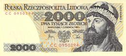 2000 Zloty Polen UNC (I) 1982 - Polen
