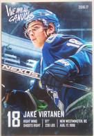 Canucks Vancouver Jake Virtanen - 2000-Nu