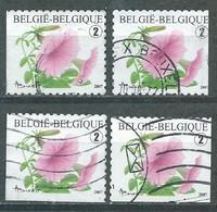 België OBP Nr: 3722 - 3722c Gestempeld / Oblitérés - Petunia - Used Stamps