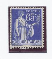 65c  Paix, Roulette, Type III (Y&T 365c) Sans Charnière - Rollen