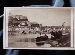 Photo CDV Armand Dandoy à Namur - Citadelle De Namur, Vue Sur La Meuse, Circa 1880 L527 - Ancianas (antes De 1900)