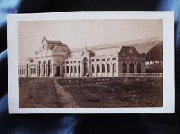 Photo CDV Armand Dandoy à Namur - Gare De Namur, Circa 1880 L527 - Ancianas (antes De 1900)