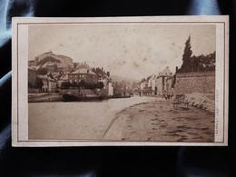 Photo CDV Armand Dandoy à Namur - Namur Pont Sur La Sambre, Circa 1880 L527 - Ancianas (antes De 1900)