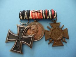 Bel Ensemble De Médailles Allemandes 1914 1918 - 1914-18