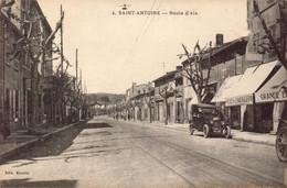 Bouches Du Rhone, Marseille, Saint Antoine, Route D Aix   (bon Etat) - Quartiers Nord, Le Merlan, Saint Antoine