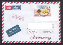 Laos 2014 Airmail Laos To Germany 9.7.2014 - Laos