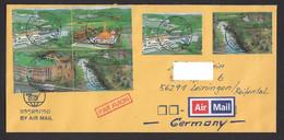 Laos 2014 Laos – Germany Nice B4 Stamps - Laos