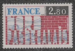 France - Yvert N°1852 Neuf * - Nuovi