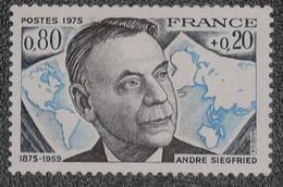 France - Yvert N°1858 Neuf * - Ongebruikt