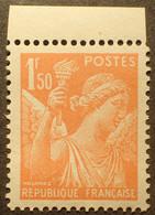 R1098/14 - 1939/1941 - TYPE IRIS - N°435 NEUF** BdF ➤➤➤ FAUX DE L'INTELLIGENCE SERVICE - 1939-44 Iris