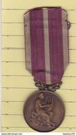 T 4/ PL .1) 1 > Médaille >    (Soc Musicales Et Chorales)  (Fmt Voir Le Scan 1 Cm Entre 2 Trais) - Altri Oggetti