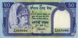 Nepal 50 Rupee (P33c) Sign 13 -UNC- - Nepal