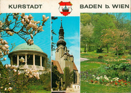 Österreich - Mehrfachkarte BADEN BEI WIEN - Baden Bei Wien