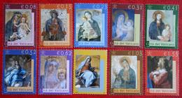 Maria Art LA MADONNA NELLA BASILICA Paintings 2002 Mi 1394-1403 Yv 1250-1259 VATICANO VATICAN VATICAAN - Unused Stamps