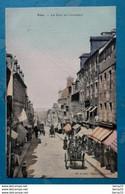 CPA - VIRE - La Rue Au Calvados - Colorisee,  Toilee - Vire