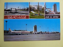 AEROPORT / AIRPORT / FLUGHAFEN     DAR-EL-BEIDA  ALGER - Aerodromes