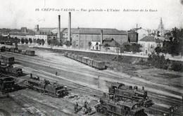 CREPY EN VALOIS USINE-GARE Petite Déchirure - Crepy En Valois