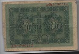 Billet De 50 MARK  ( 1914 ) - 50 Mark