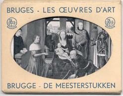 SNAPSHOTS - BRUGGE LES OEUVRES D'ART - Mini Cartes - Série 1 - COMPLET - 12 Cartes Sur 12 - Unclassified