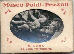 MILANO MUSEO POLDI-PEZZOLI - 20 VERE FOTOGRAFIE - COMPLET - Unclassified