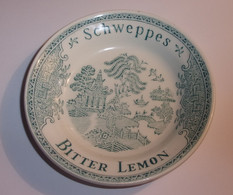 Coupelle /Vide Poche / Ramasse Monnaie Vintage Schweppes Bitter Lemon - Porcelana