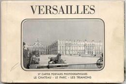 VERSAILLES - CARNET DE 27 CARTES - INCOMPLET : Reste 13 Cartes Attachées + 6 Détachées - Unclassified