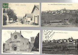69 RHONE Lot De 36 Cartes Diverses - 5 - 99 Postales