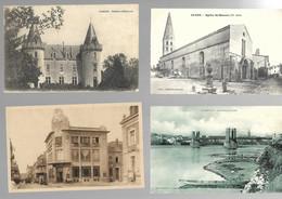 71 SAONE ET LOIRE Lot De 39 Cartes Diverses - 5 - 99 Postales
